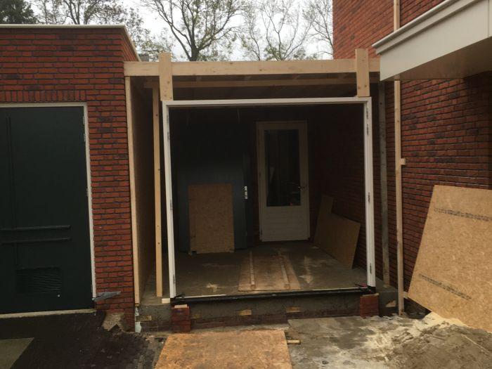 Uitbreiding garage